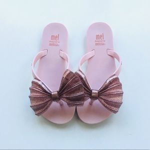 Pink Blush Mini Melissa Sandals